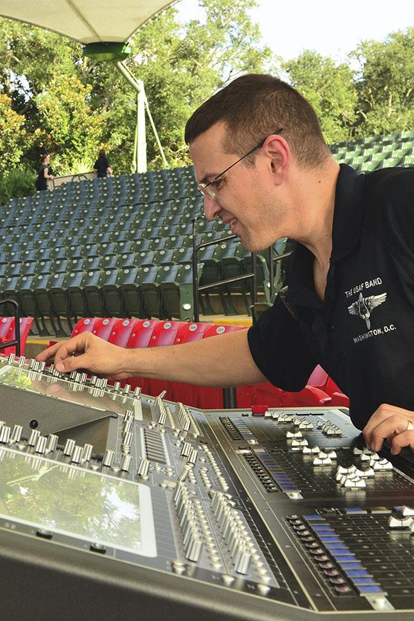 lavoro estivo come tecnico audio