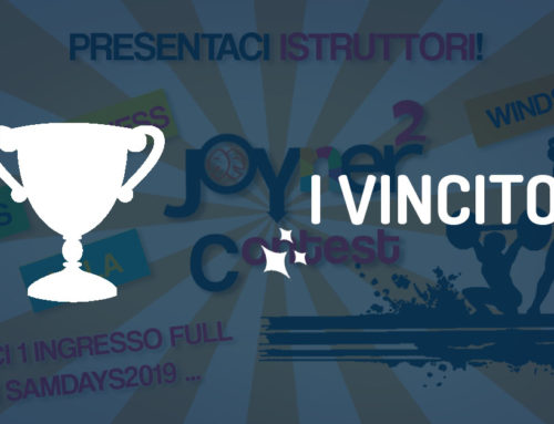 3° Contest Joyner²: Chi avrà vinto un ingresso per i Samdays?