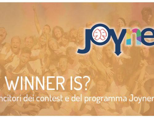Vincitori Joyner²: chi va in vacanza gratis?