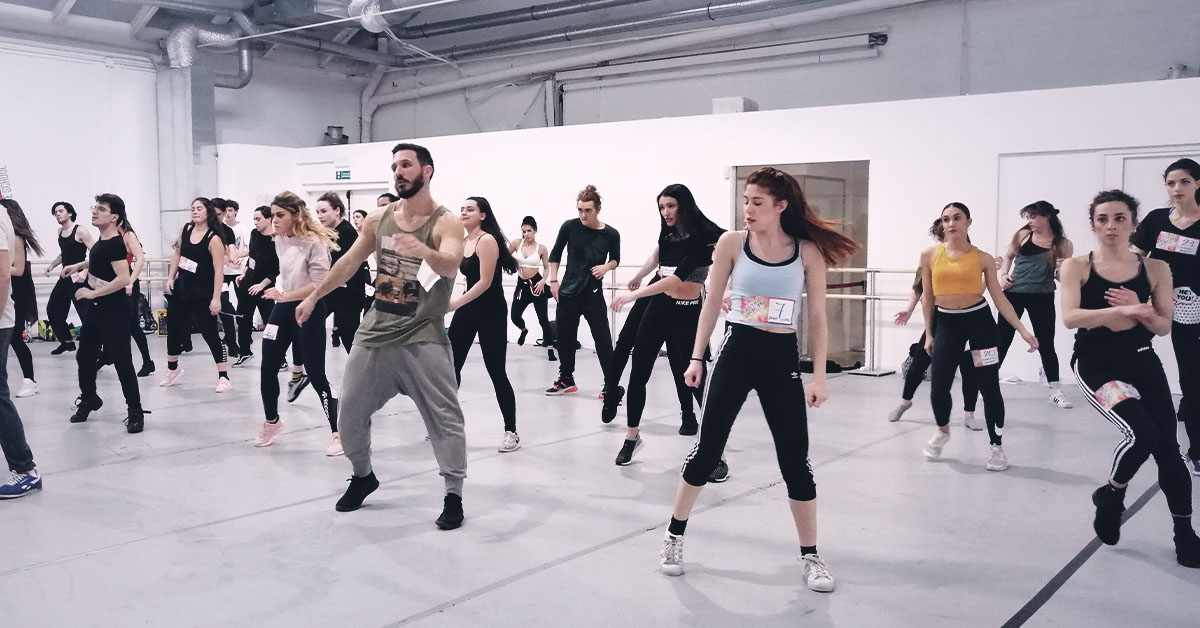 audizione ballerini