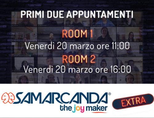 Samarcanda EXTRA: restiamo a casa con te!